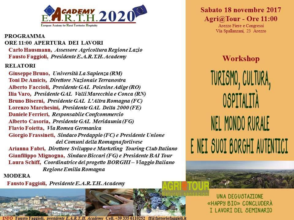 Programma Arezzo 18 novembre 2017