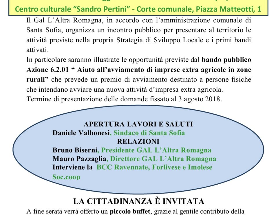Incontro Santa Sofia 22.05.2018
