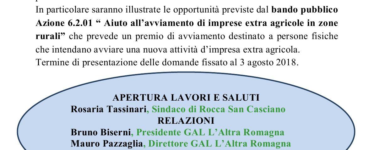 Incontro pubblico Rocca San Casciano