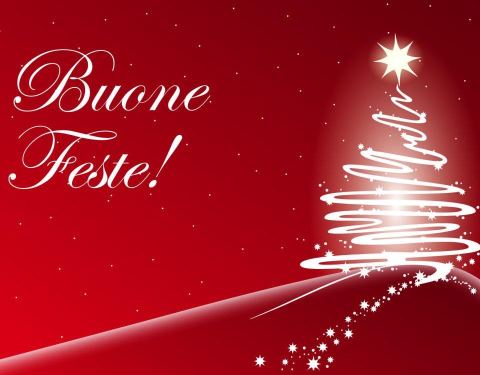 immagine Buone feste Natale dicembre 2020